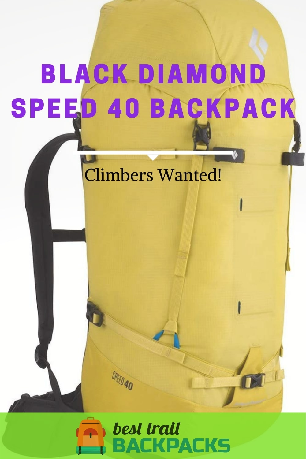 Black Diamond Speed 40 Backpack Review - Climbers Wanted
