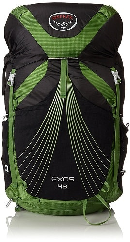 Hiking Backpack for Beginners - Osprey Exos 48L Backpack