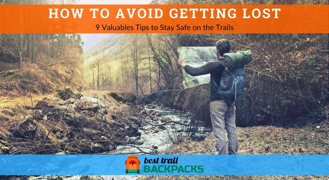How to Avoid Getting Lost While Hiking- Lost Man Observing Map to Find the Right Way