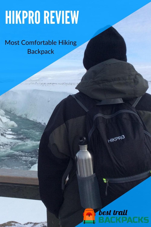 Most Comfortable Hiking Backpack - HIKPRO 20L Backpack