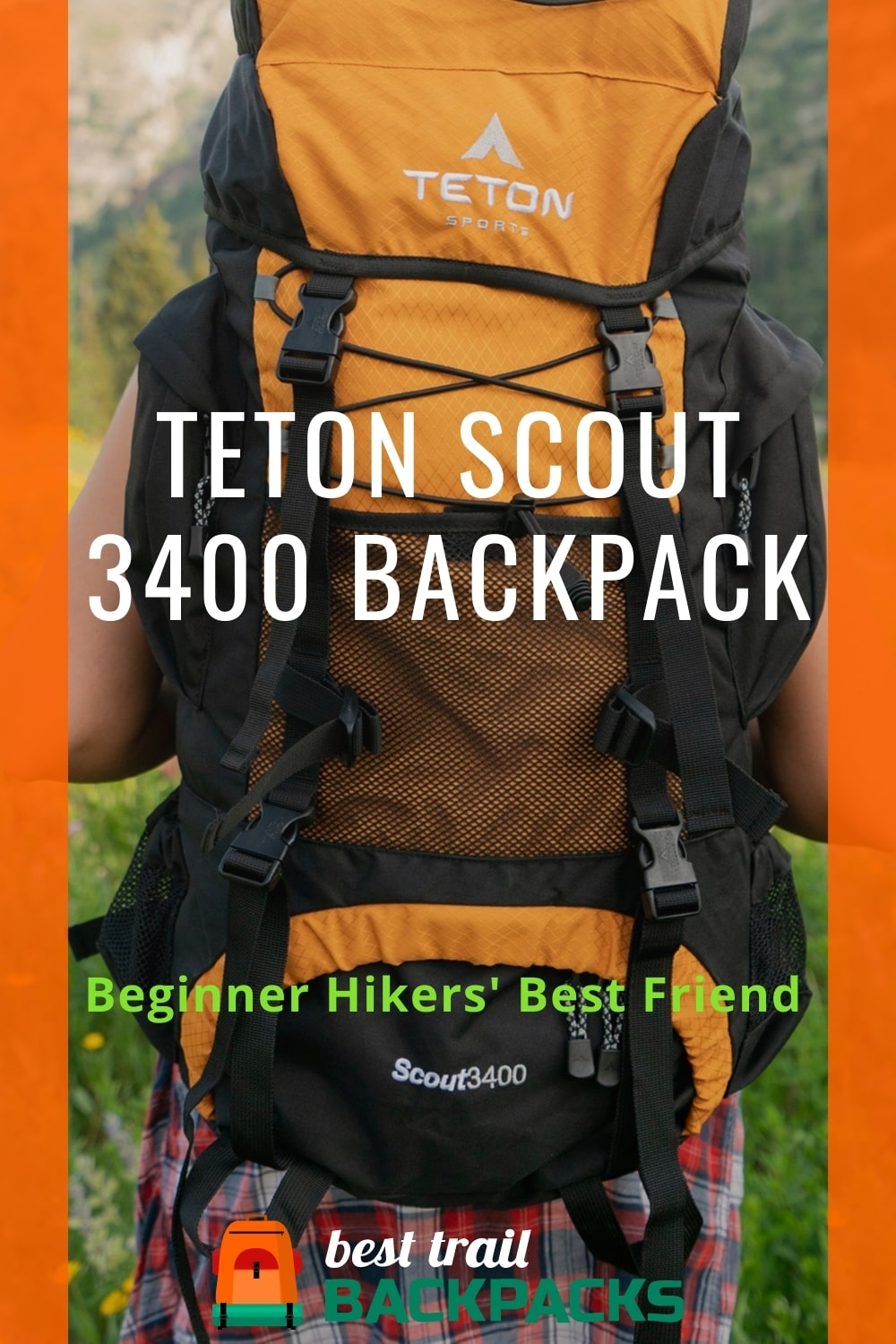 Teton Scout 3400 Backpack - Front View