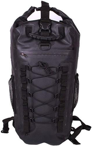 Water Resistant vs Waterproof - Rockagator Waterproof Backpack 40L HYDRIC