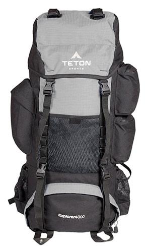 Teton Sports Explorer 4000 Hiking Backpack - Front View