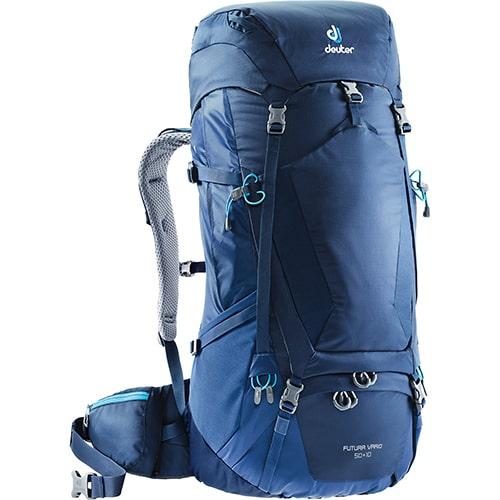 The Deuter Futura Vario 50+10 Hiking Backpack