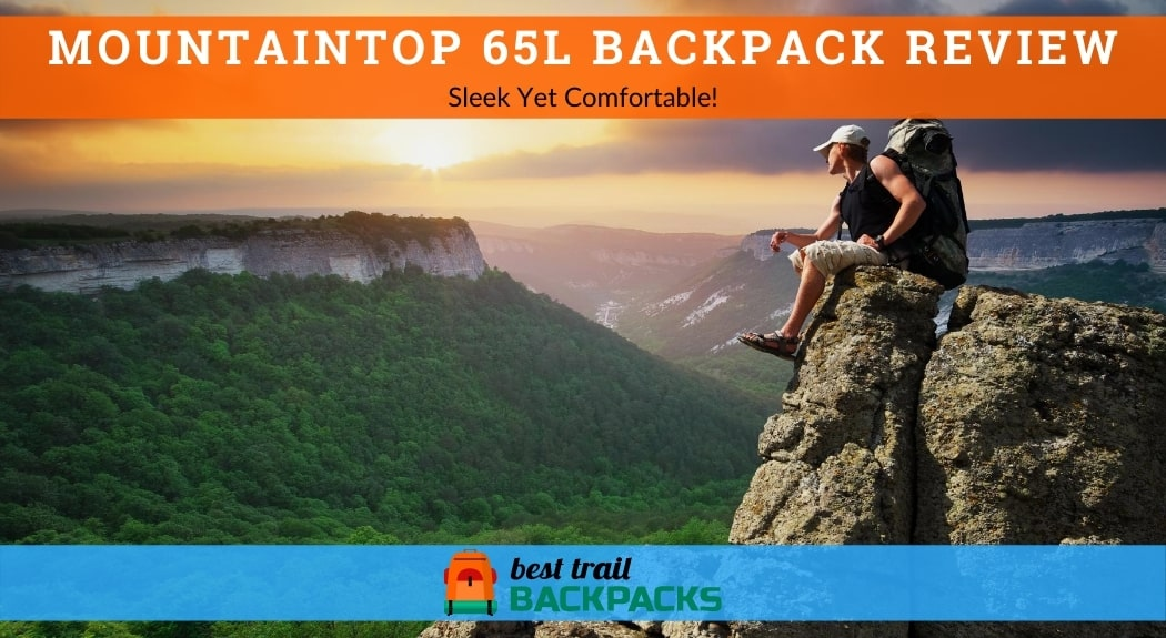 Mountaintop Backpack Review - Man on the Top of Mountain
