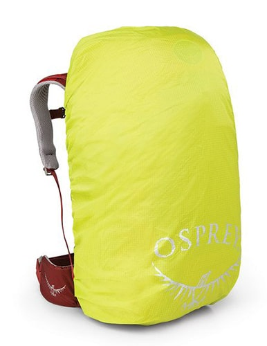 Best Backpack Covers - Osprey Hi-Visibility Raincover - Front View