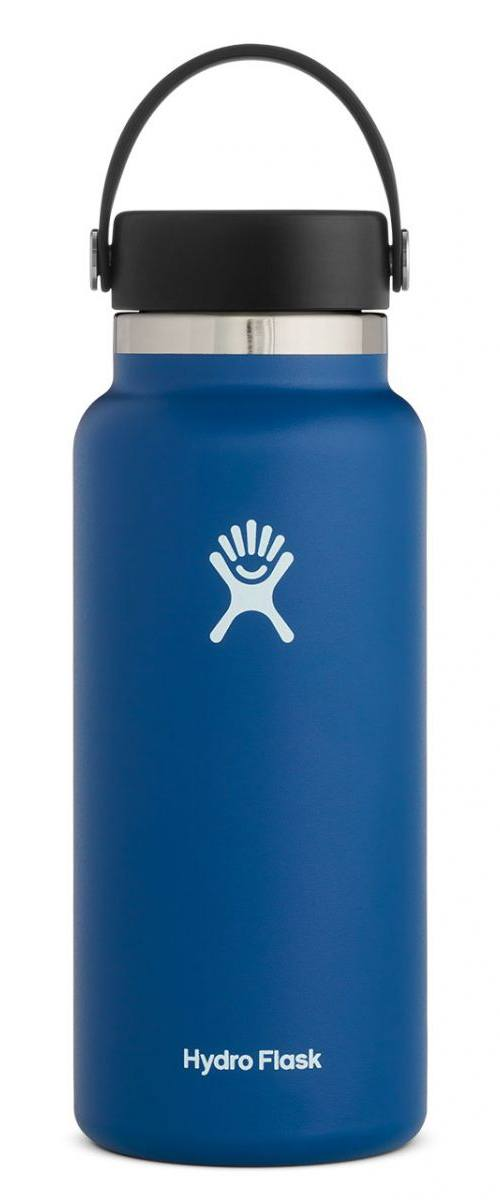 Best Water Bottles for Hiking - Hydro Flask Wide-Mouth Water Bottle - Front View
