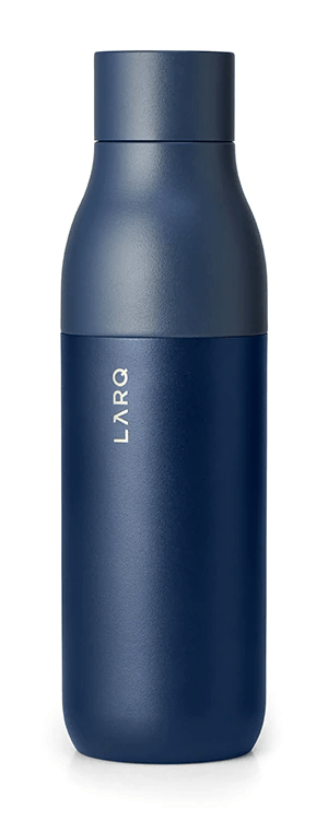 Best Water Bottles for Hiking - LARQ Water Bottle - Front View