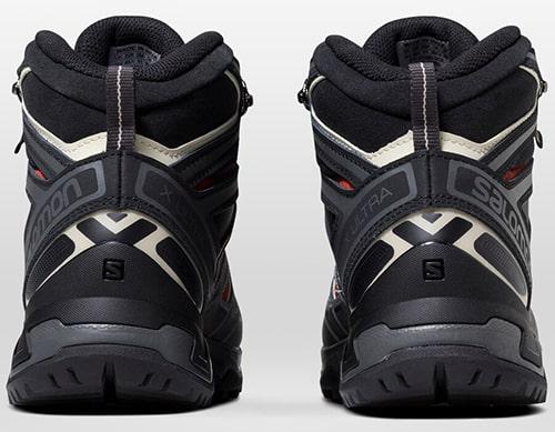 Salomon X Ultra 3 Mid GTX Hiking Boots - Back View