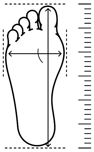 Foot Size Measurement for Hiking Boots