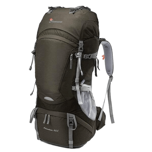 Mountaintop Backpack Review - Front View