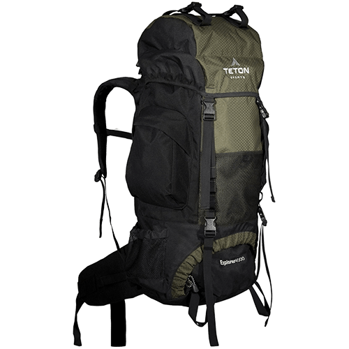 Teton Sports Explorer Review - Front View